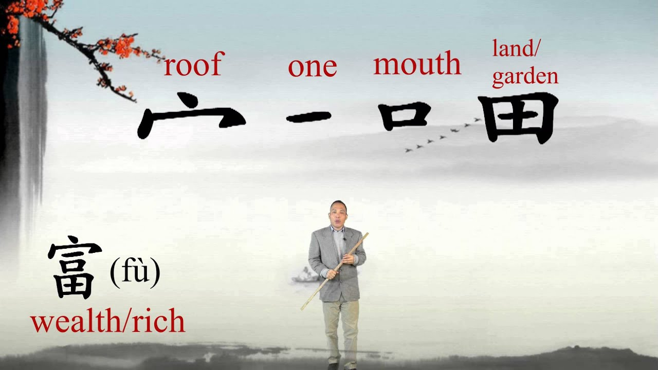 Wealthrich chinese characters and culture 2 youtube buycottarizona Images