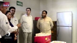 Fortalecen Centros de Salud de Soto la Marina con nuevo equipamiento