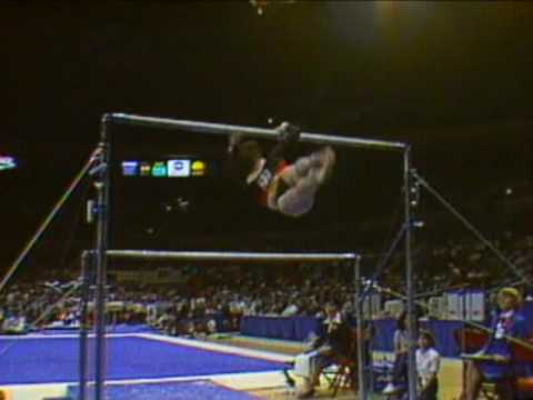 Mary Lou Retton - Uneven Bars - 1984 McDonald's American Cup