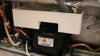 Curatare tava de colectare apa a frigiderului (Arctic ANK305NFS)