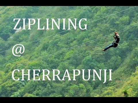 Crazy Ziplining @ Cherrapunji - Travel Diaries India