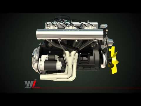 TR6 Motor / Engine Animation