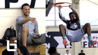 Dennis Smith IMPRESSES Stephen Curry In One On One Games!!!