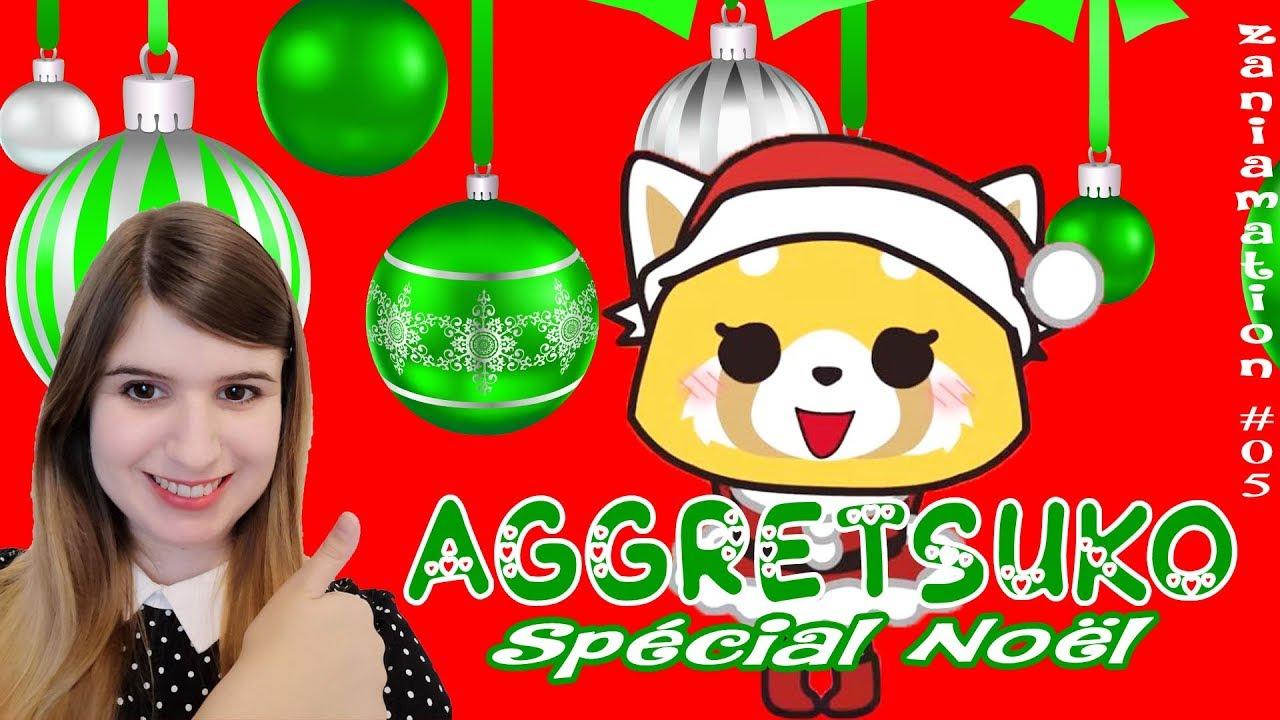 Aggretsuko Christmas.Zanimation 05 Aggretsuko Christmas Special Spoil