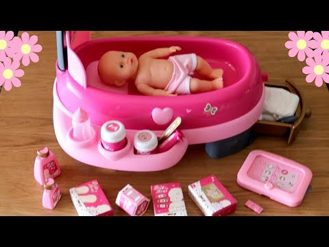 Thumbnail: Baby Dolls Electronic Nursery Center - Baby Annabell Lil Cutesies Syringe Injection Taking Medicine