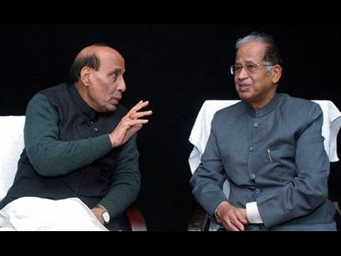 Rajnath Singh Speaks to Assam CM Tarun Gogoi Over Killing of Hindi-speaking Persons