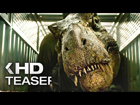 Download Youtube: JURASSIC WORLD 2: Fallen Kingdom Trailer Teaser 2 (2018)