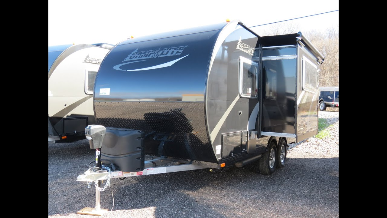 Campers For Sale Ontario >> 2016 Camplite 16DBS by Livin Lite for sale in Ontario #3792 - YouTube