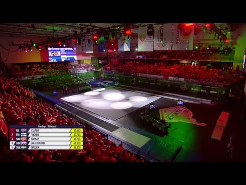 REPLAY - 2018 TeamGym Europeans - Junior finals
