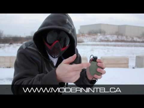 Paint Grenades Field Test