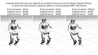 An Improved Formulation for MPC of Legged Robots