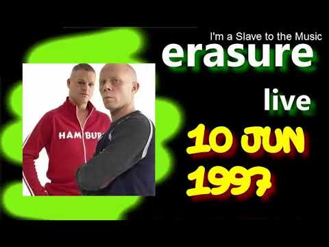 ERASURE Live 10 Jun 1997.- 4th & B, San Diego California USA
