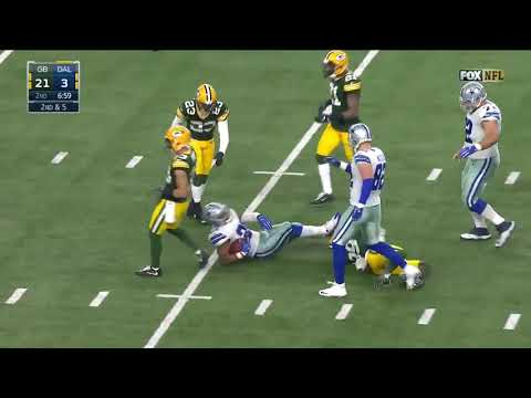 2016 NFC Divisional Playoffs Packers At Cowboys Condensed