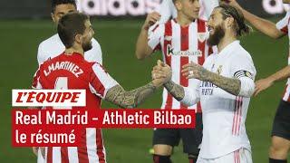 Super Coupe d'Espagne : Real Madrid - Athletic Bilbao, le résumé (1-2 / L'Equipe 2021