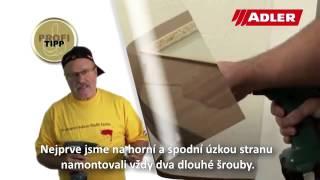 ADLER - Jak na renovaci dveří, zárubní, radiátorů - vše jednou barvou ?