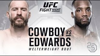 UFC 3 - UFC Fight Night June 23rd 2018 - Donald Cerrone vs. Leon Edwards
