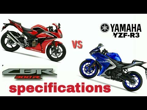 Honda Cbr 300r Vs Yamaha Yzf R3 Naked Bikes Youtube