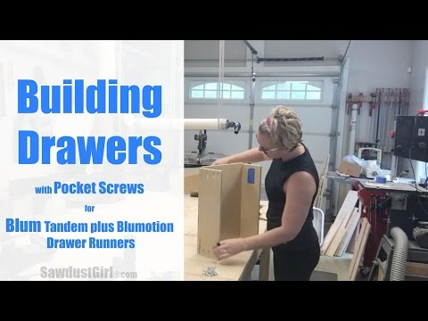 How to Build and Install Drawers with Blum Drawer Glides
