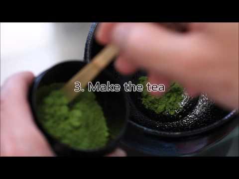 Procedure Of Tea Ceremony