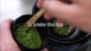 Procedure of Tea Ceremony