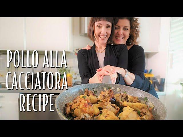 Pollo alla Cacciatora Recipe - Foodie Sisters in Italy