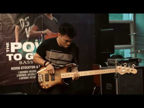"""Barry Likumahuwa Bass Solo On Melodia Musik """"The Power To Groove"""""""