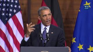 Obama Sending Additional Special Operations Forces To Syria - Full Speech In Germany