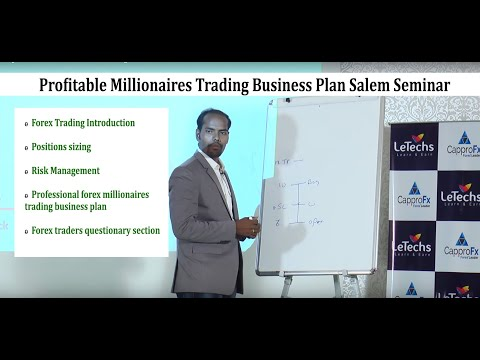 Profitable Millionaires Trading Business Plan Salem Seminar