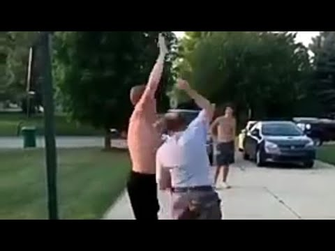 OLD WHITE MAN BEATS THE SHIT OUT OF A WANNABE THUG ON THE BUS! from YouTube · Duration:  3 minutes 22 seconds