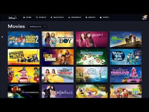 Disney Content All Disney Plus Movies Shows List