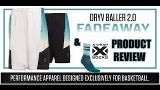 Point 3 DRYV BALLER 2.0 Shorts & X-Wrap Basketball Sock Product Review
