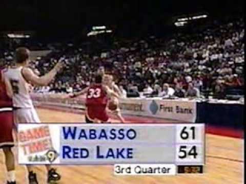 Red Lake vs Wabasso 1997 MN State Basketball Tournament