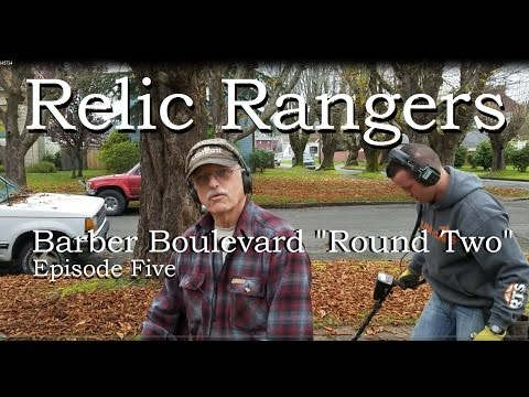 "Relic Rangers - Barber Blvd. ""Round Two"" Rare Foreign Silver Barbers Vintage Jewelry TEAM TRIFECTA!"