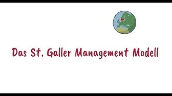 brillianIDEAS: St. Galler Management Modell