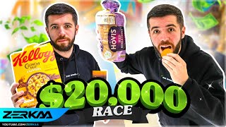 Finishing The SIDEMEN $20,000 A-Z Eating Challenge!