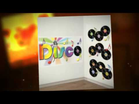 Mottoparty 70er Jahre Disco Partydeko De Youtube - Mottoparty 70er