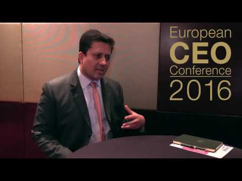 European CEO Conference 2016 - Tushar Prabhu Interview