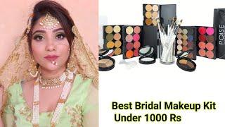 Bridal Makeup kit under 1000 Rs. || #shadisagaseries