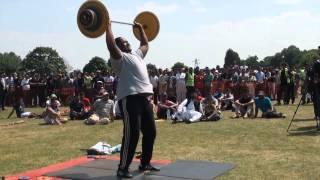 MKA UK IJTEMA 2013: Strong Man Competition; Beautiful Moment