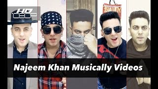 Najeem Khan - Musically Videos | Top 29