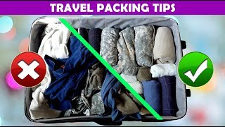 Learn How to Pack Your Travel Bag | Travel Packing Tips | Packing Checklist