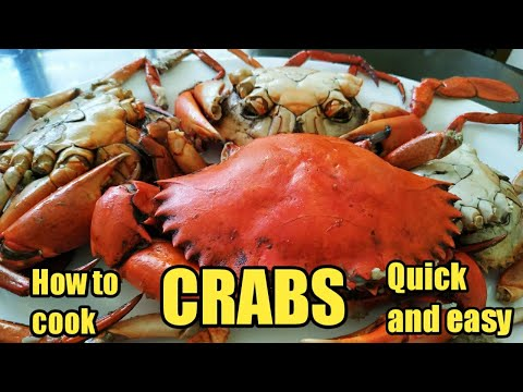 HOW TO COOK CRABS FILIPINO STYLE | QUICK AND EASY