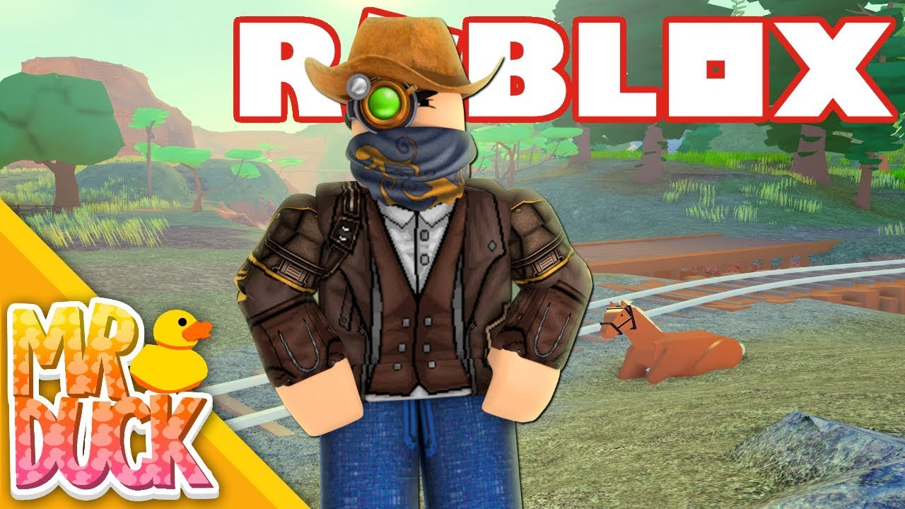 The Coolest Cowboy Game On Roblox Roblox The Wild West Youtube