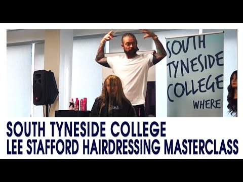 Lee Stafford Hairdressing Masterclass 2017.