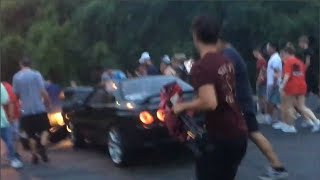 Car Meet GONE WRONG - R32 Skyline Drifts Into MUSTANG #13 - FNF