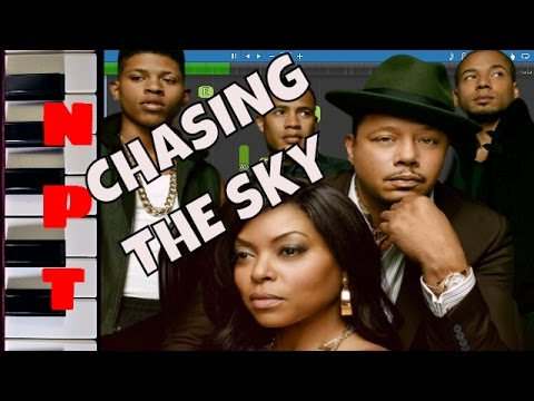 Empire Cast - Chasing The Sky Piano Tutorial - Terrence Howard, Jussie Smollett, Yazz - Instrumental