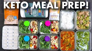 ★ get 25% off your thrive market order!! https://thrivemarket.com/mindovermunch25 try this keto meal prep for the week with an easy breakfast, lunch, ...