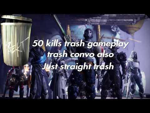 Destiny 2 Forsaken | 50 kill game TRASH GAMEPLAY |