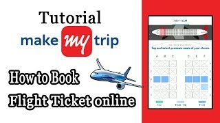 Make my Trip Flight Booking |How to Book Flight Ticket in MakeMyTrip