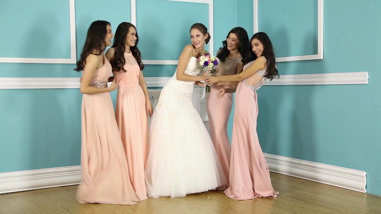 coleccion nupcial marbella de venta en novias de diamante - YouTube